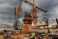 Tower crane on Pier Five. #5