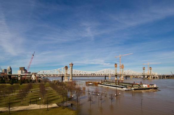 Ohio River Flooding of Waterfront Park #2