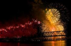 Thunder Over Louisville Fireworks Show April 18, 2015.