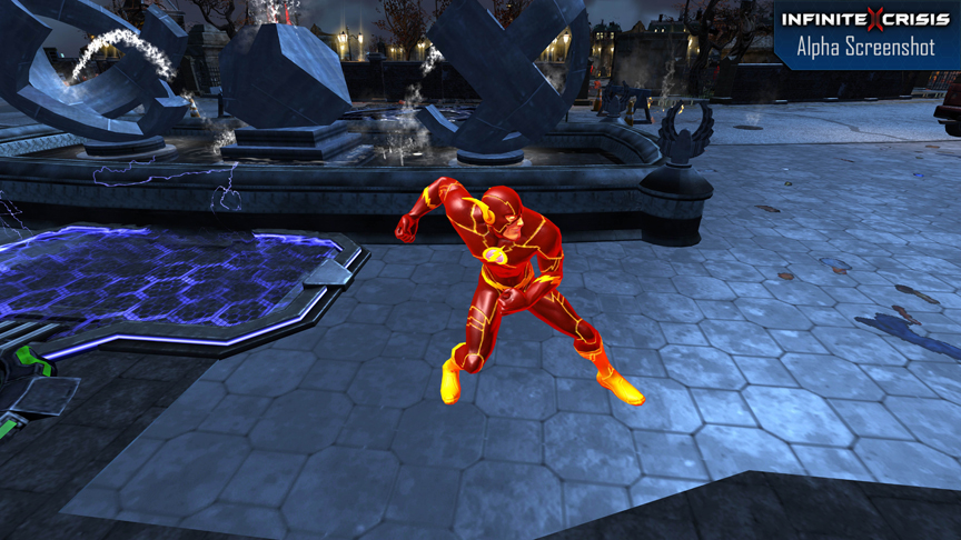 Free Early Fall Wallpaper Infinite Crisis Moba Game Featuring The Flash Announced