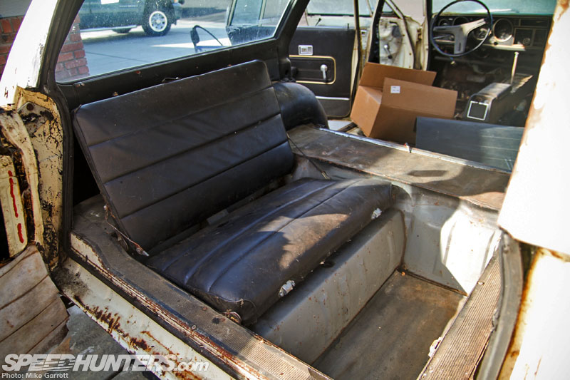 Rear Facing Car Seat Pickup Truck Project Crown Signs Of Life Speedhunters