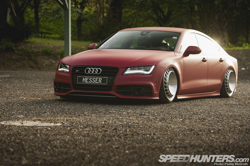 Cool Modified Cars Wallpapers Messer Is More The Turbo Fan Audi A7 Speedhunters