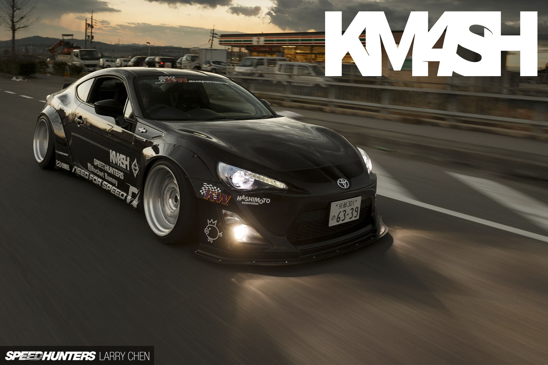 Widebody Drift Car Wallpaper The Km4sh Body Kit Your 86 Our Style Speedhunters