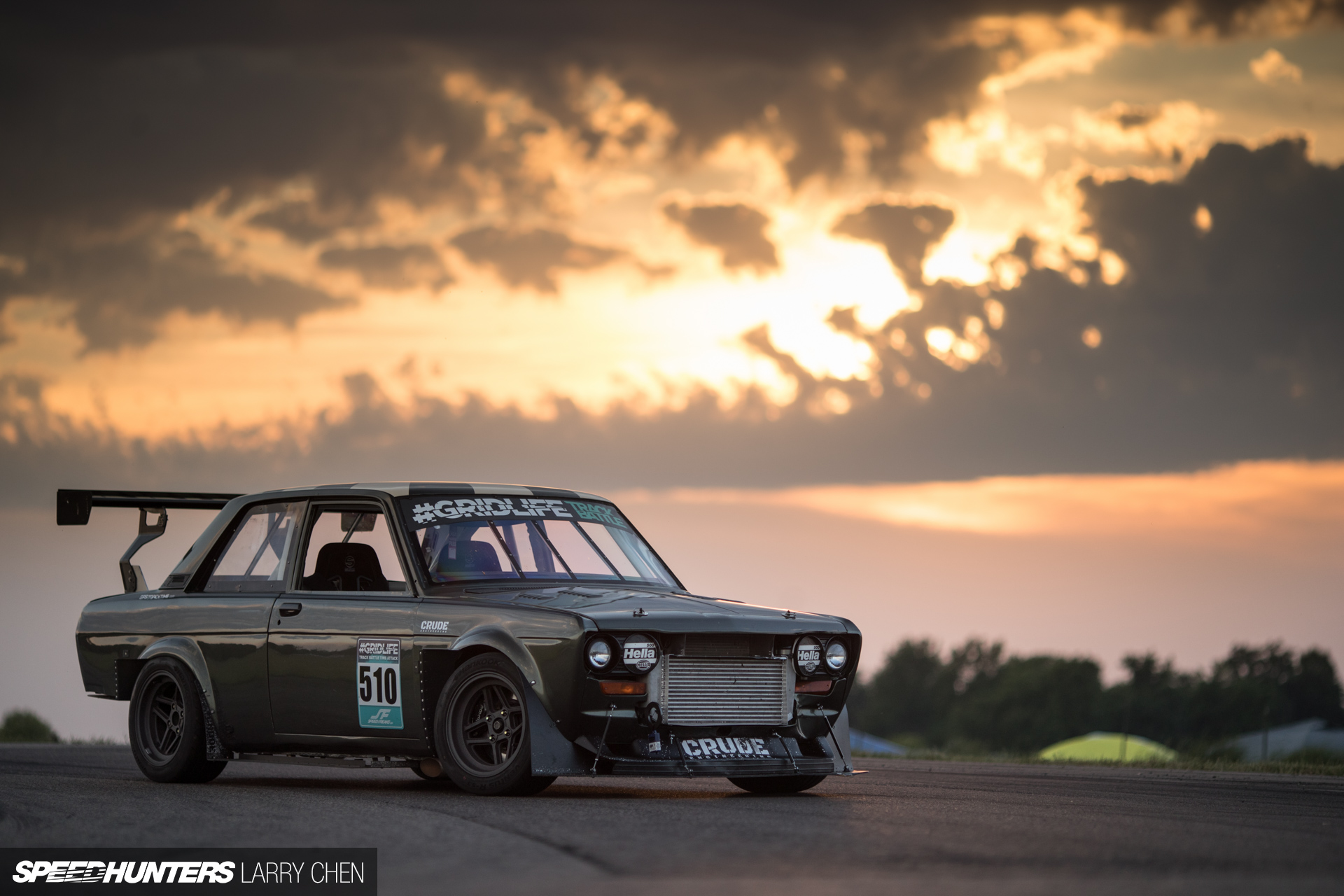 Custom Classic Car Wallpapers A Datsun Time Attacker With Gm Ecotec Power Speedhunters