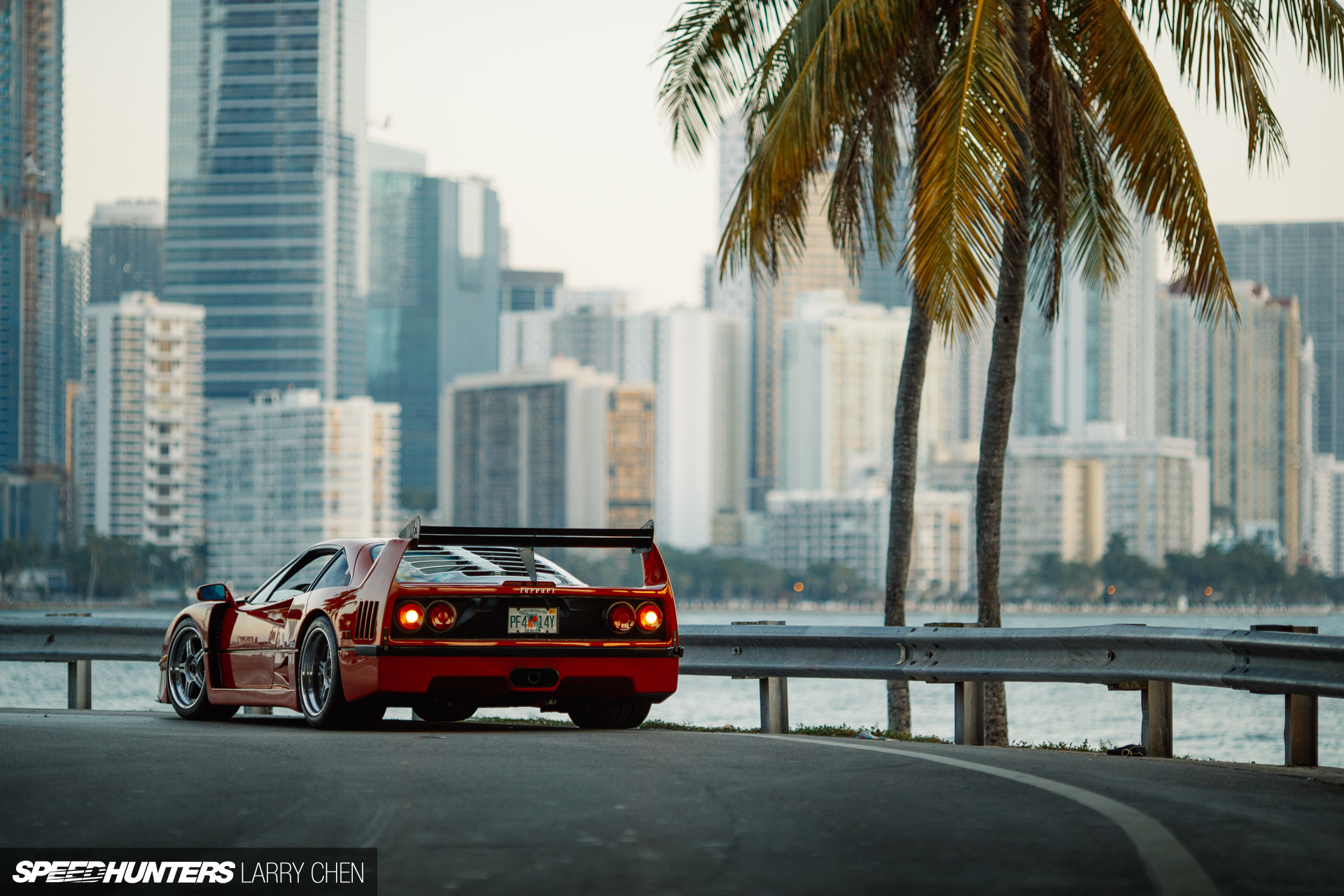Muscle Car Hd Wallpapers 1080p A Ferrari F40 Miami Style Speedhunters