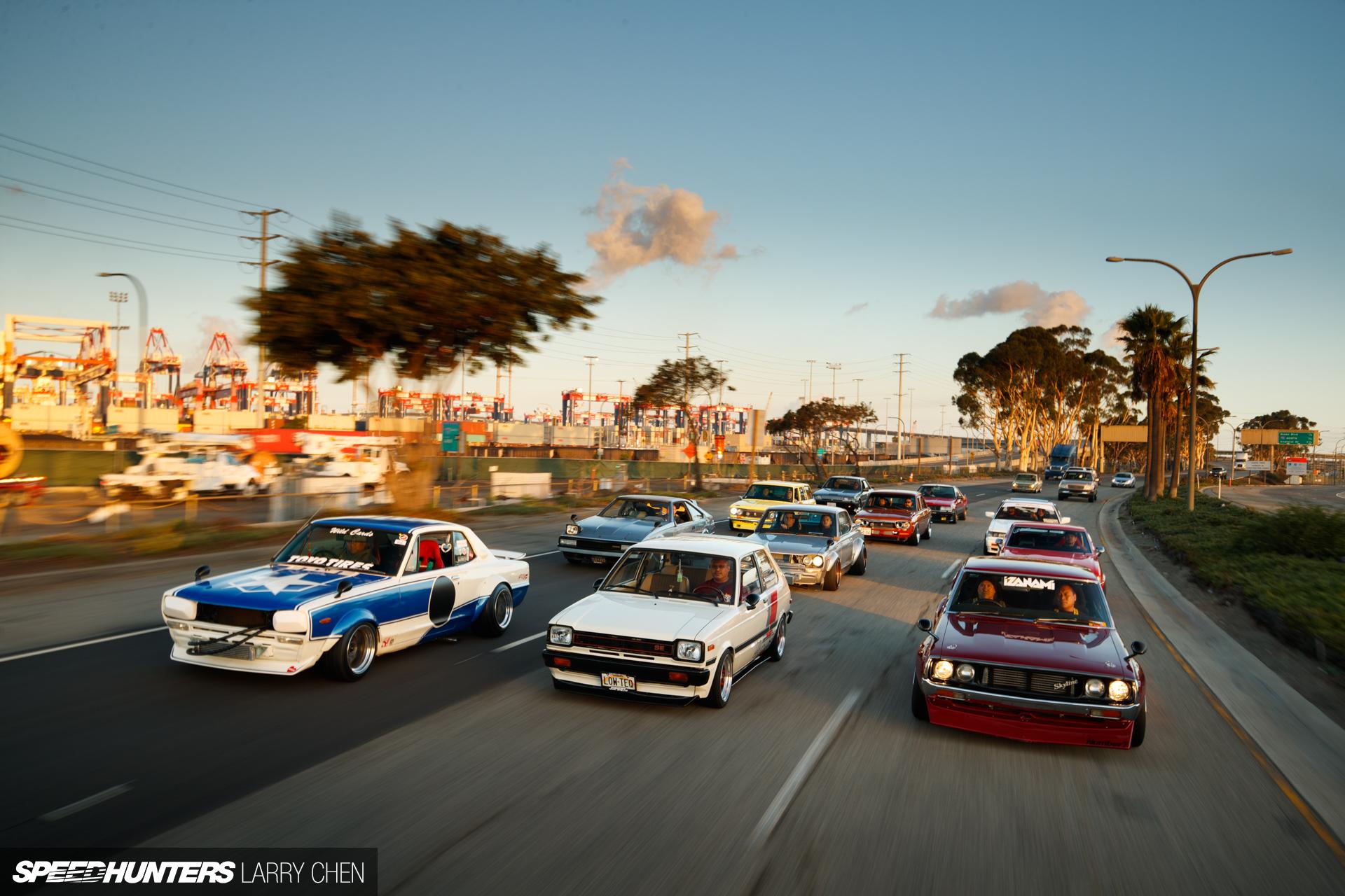 Drifting Muscle Cars Wallpaper Team Wild Cards Invade Long Beach Speedhunters