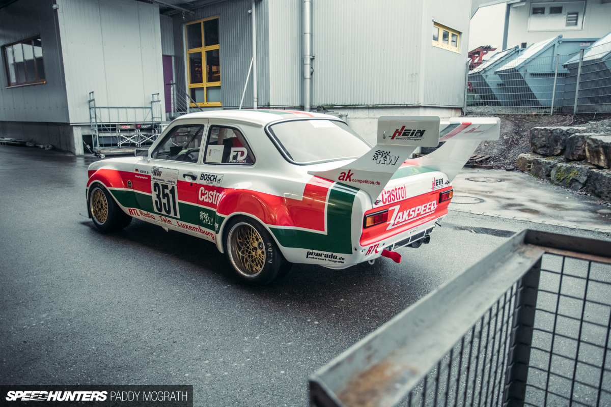 Garage Ford Grasse Going All In An Escort Built With Passion Speedhunters