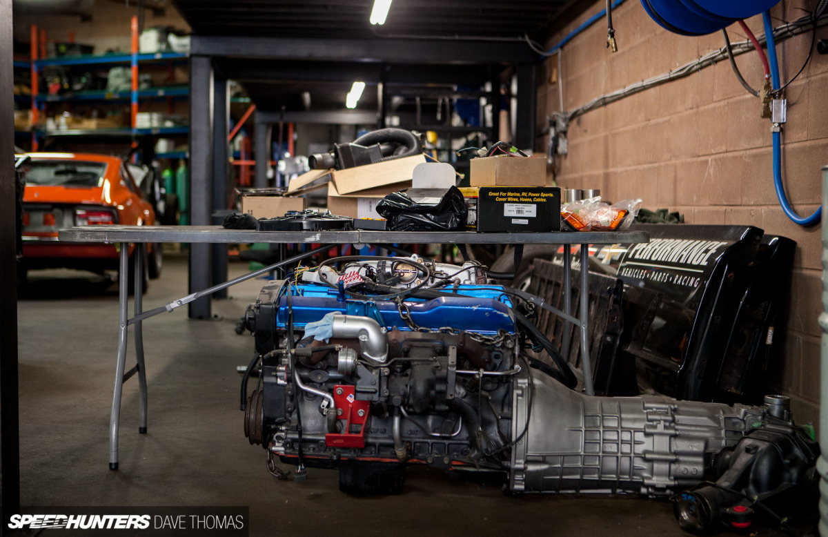 Garage Automobile Tours Cyrious Garage Works Shop Tour Dave Thomas 64 Speedhunters