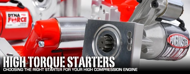 Choosing the Right Starter for High-compression Engines - StangTV