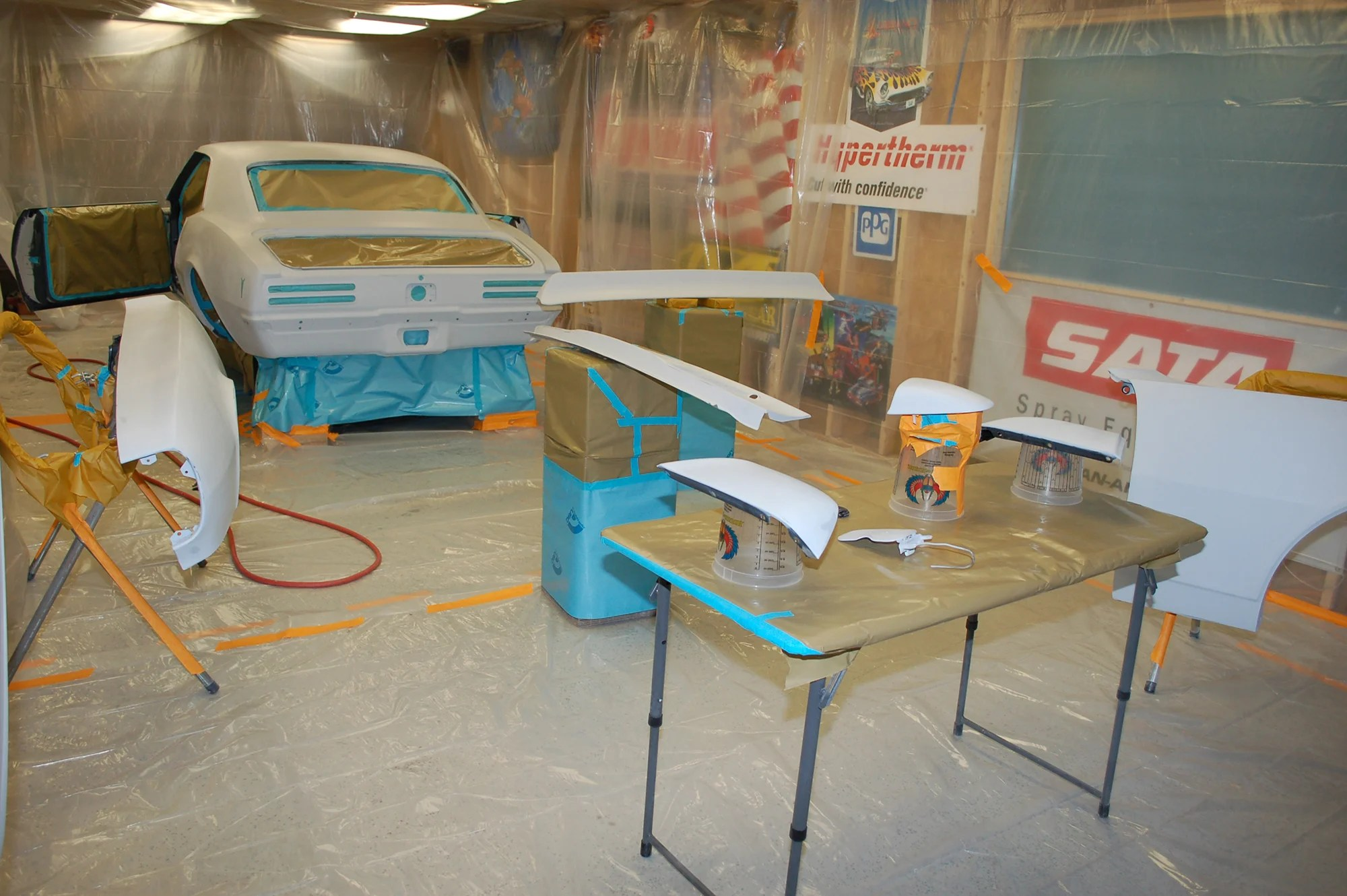 How To Turn Your Home Shop Into An Easy To Use Paint Booth