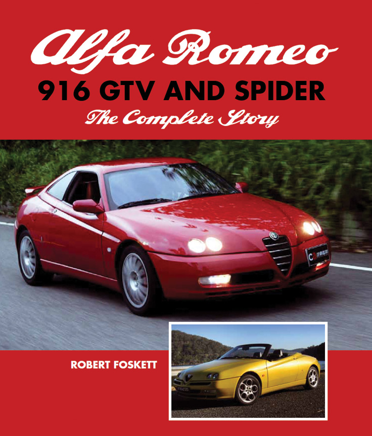 Alfa Romeo 916 GTV and Spider The Complete Story