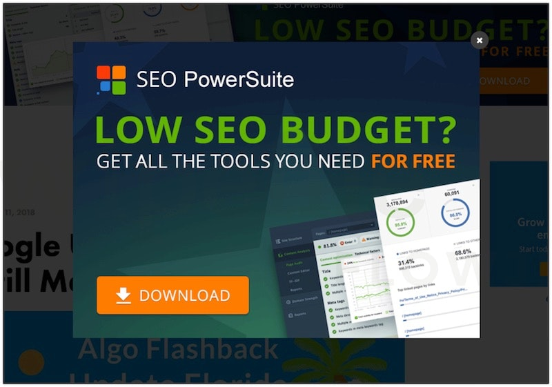 Opt-in - Low SEO Budget - Get all the tools you need for free