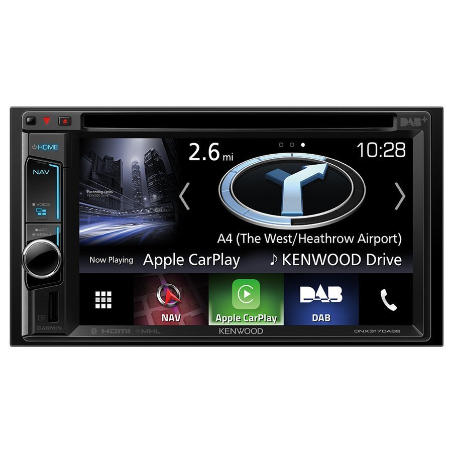Gratis Definition Car Stereo - Gps Navigatore Kenwood Dnx-317dabs - Car