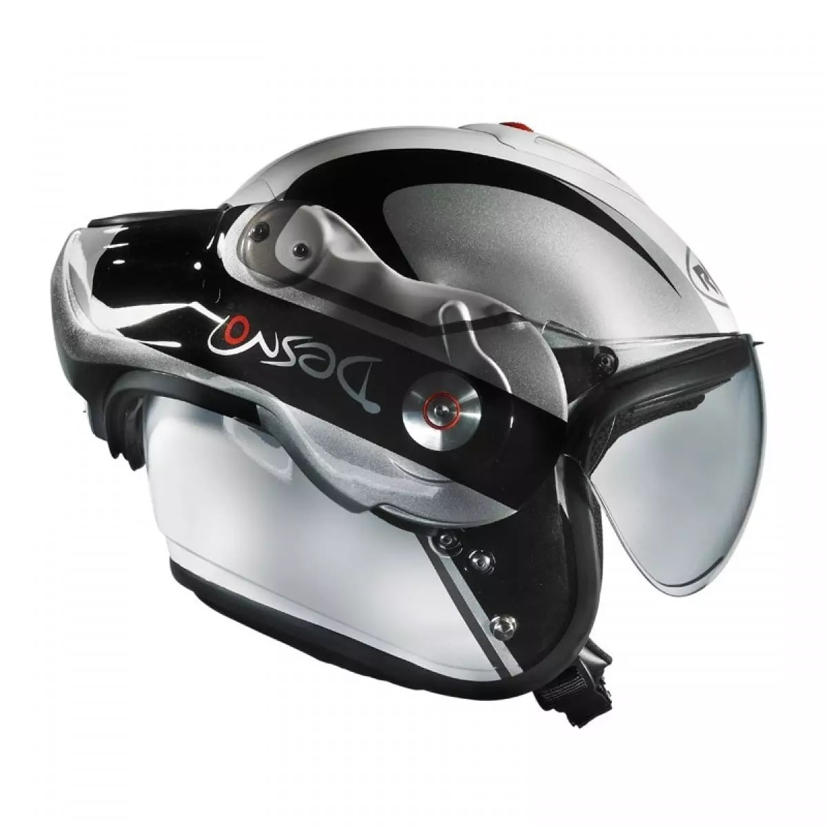 Roof Desmo Casque Roof Desmo V2 Elico Blanc/gris - Casque Modulable