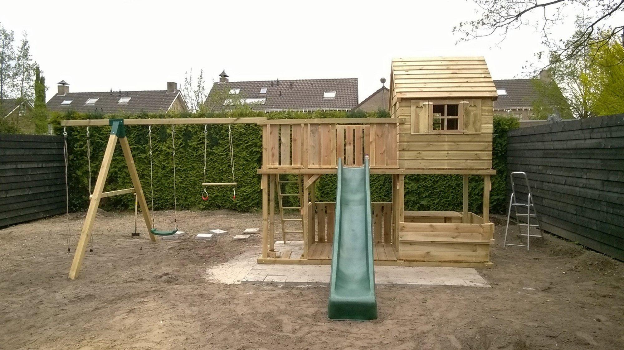 Speeltoestel Kleine Tuin : Tuin speeltoestel zelf speeltoestel maken andny54