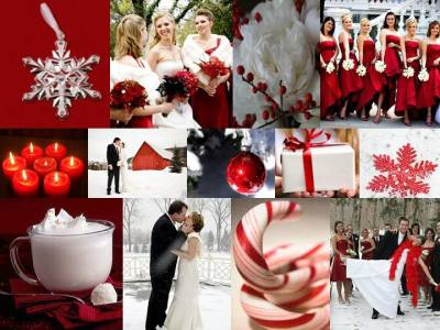 Christmas Weddings | winter wedding invites blog