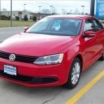 2012 VW Jetta deer collision