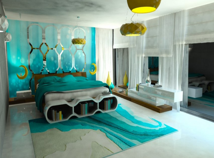 Turquoise Room Decorations, Colors of Nature & Aqua Exoticness