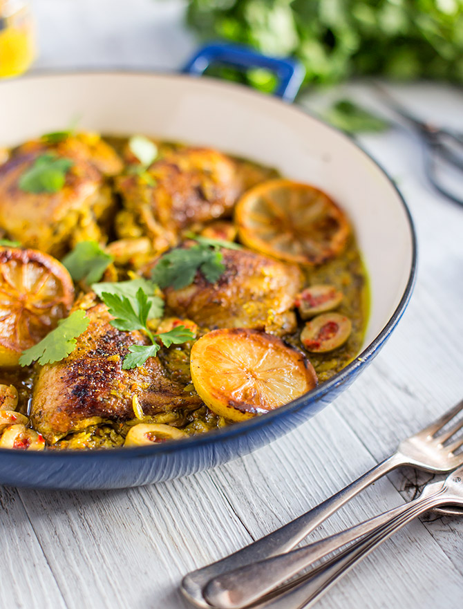 One Pot Moroccan Chicken