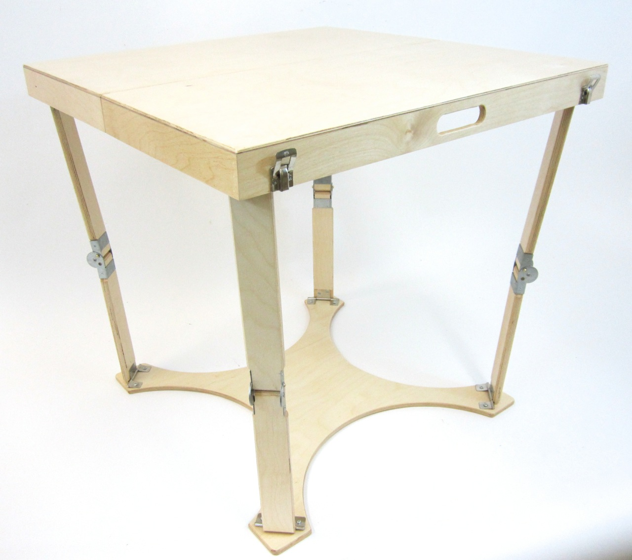 Cafe Table Hand Crafted Portable Folding Cafe Table