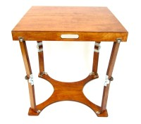 Custom Crafted Folding Small Cafe Table/ Homework Desk ...