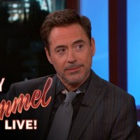 Robert Downey Jr. talks about Tom Holland as Spider-Man with Jimmy Kimmel (video)