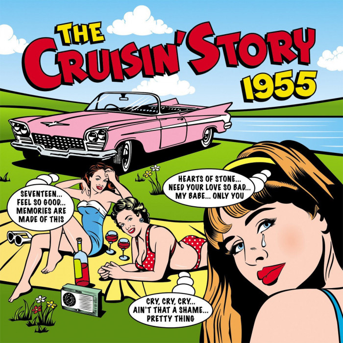 Sessel Mit Musikboxen Cd The Cruisin`story 1955 (2cd) - Spielautomaten.ch