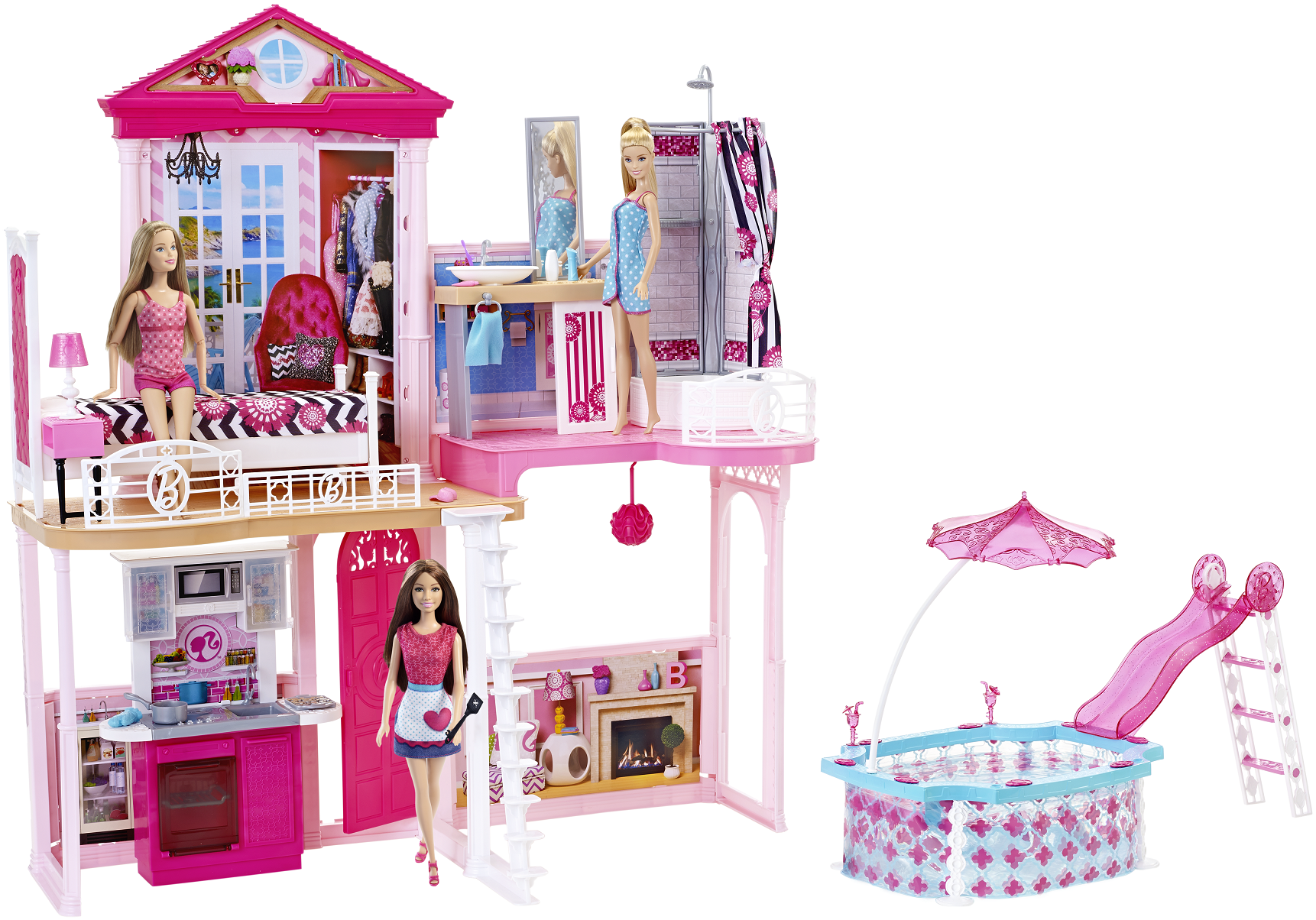 Barbie Badezimmer Barbie Barbie Haus
