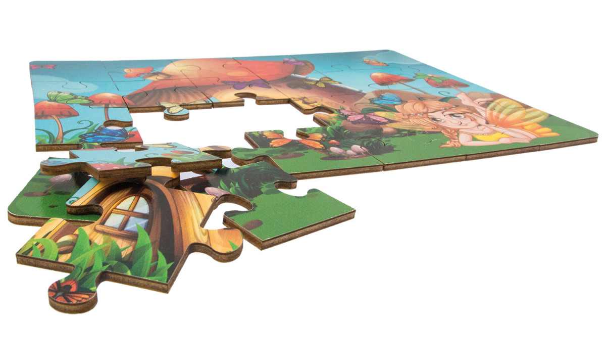 Puzzle Holz Holz Puzzle Elfe