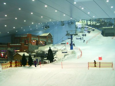 Indoor ski resorts