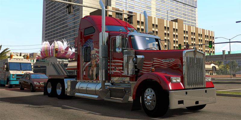American Truck Simulator blir mye større