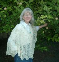 Bigfoot shawl in Hardtwist Petite in Jellybeanz