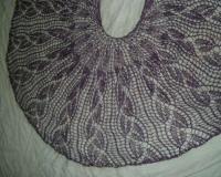 Wanda\'s Flowers shawl