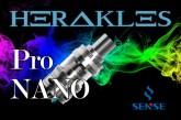 Sense Herakles Pro Nano Tank REVIEW – SPINFUEL VAPE MAGAZINE