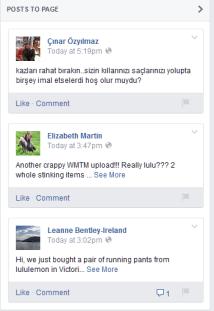 Facebook Hides User Comments
