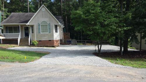 Medium Of Gravel Driveway Cost
