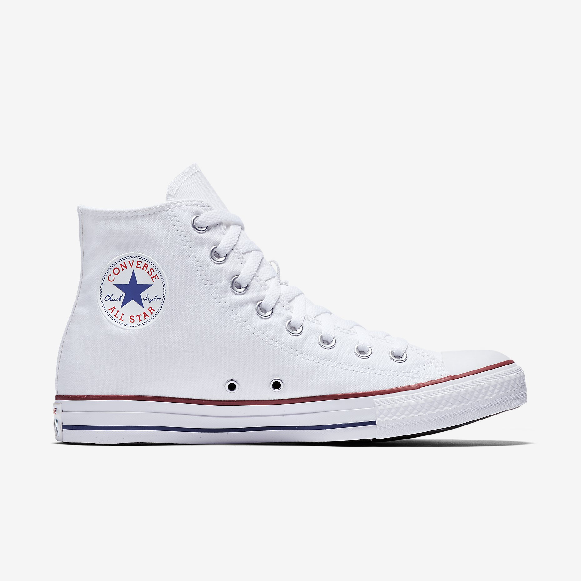 All Star Converse Chuck Taylor All Star High Top White Spinners