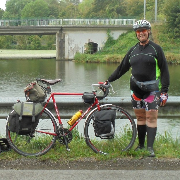 Cycle Touring is alive and well - thank goodness for Reynolds 531.