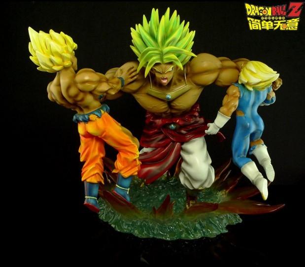 Broly vs Goku & Vejita