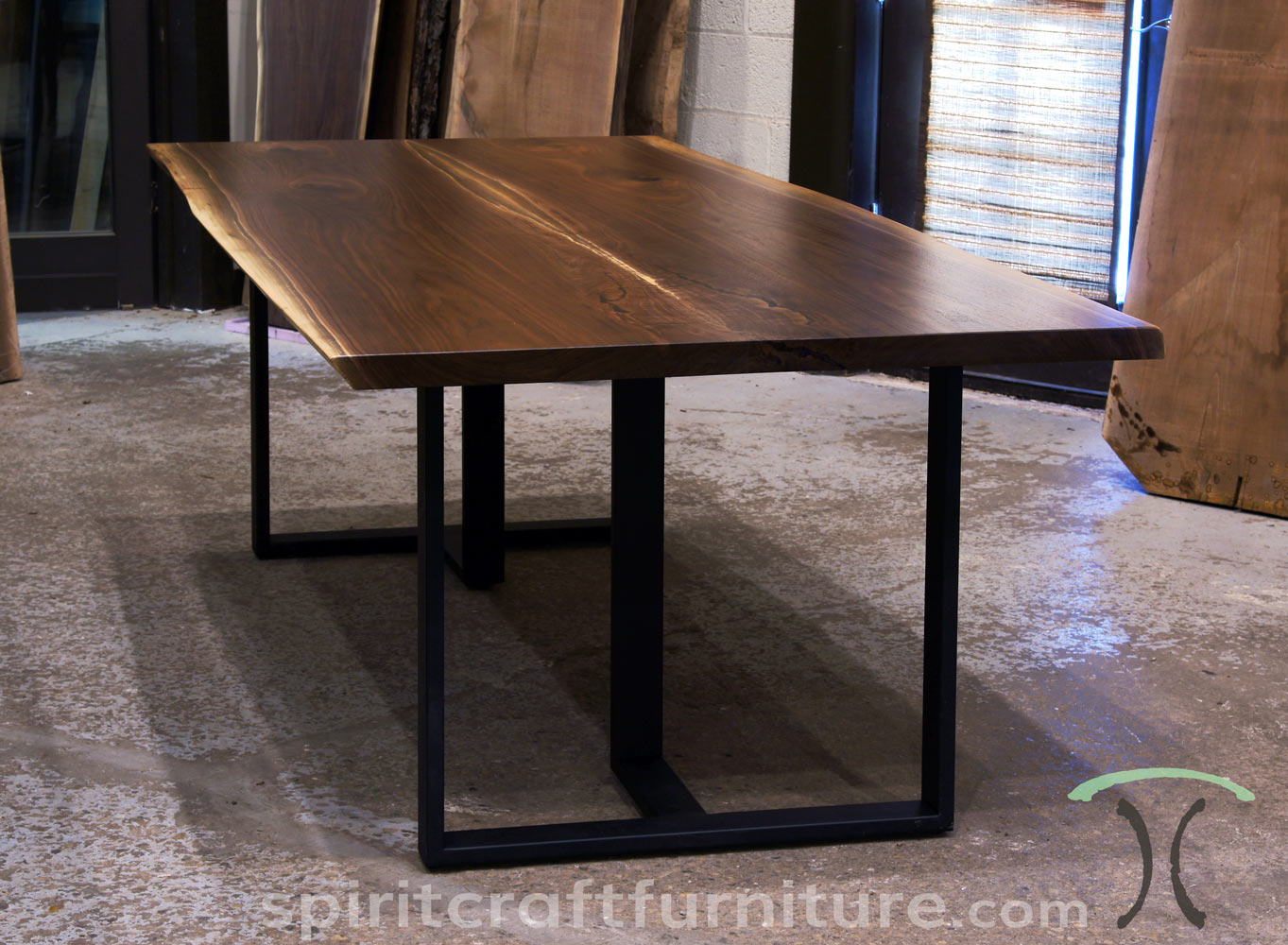 Urban Sofa Live Edge Live Edge Slab Dining Tables Walnut Slabs And Tops