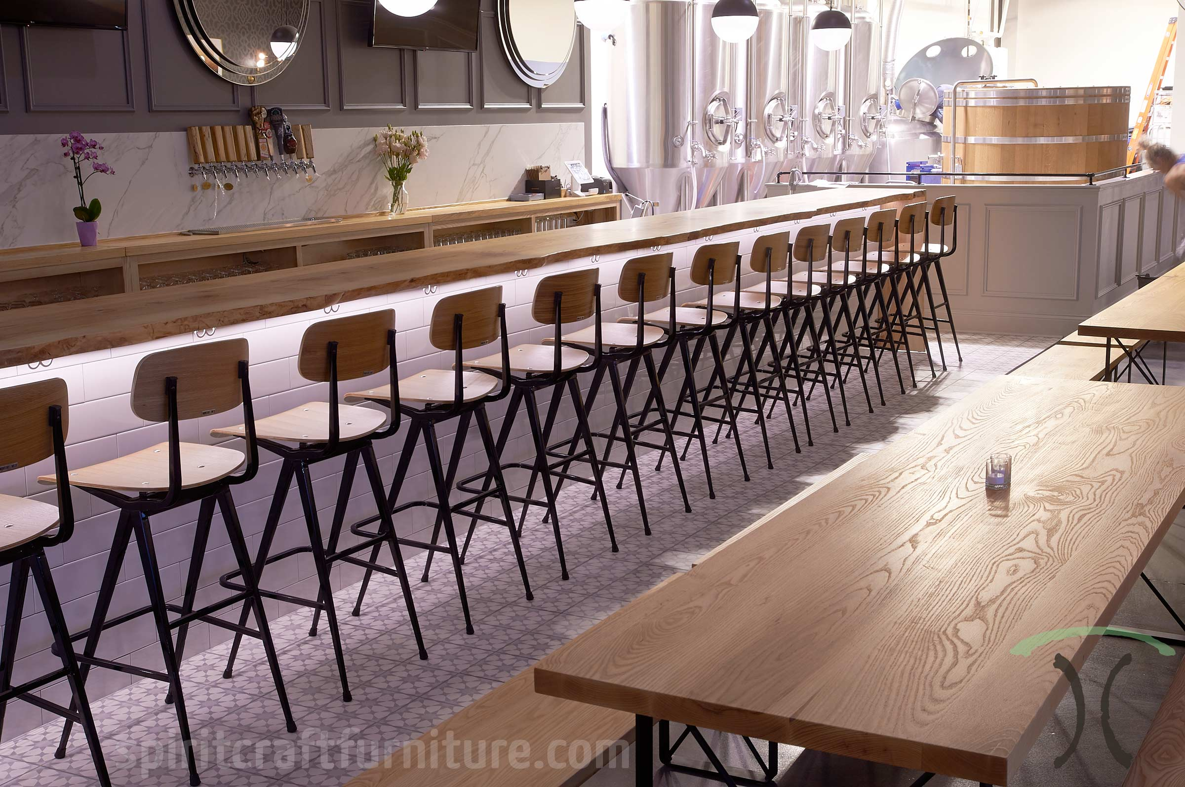 Reastaurant Tables Custom Solid Hardwood Table Tops Dining And Restaurant