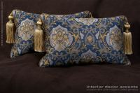 Schumacher Italian Tapestry - Lee Jofa Velvet Designer Pillows