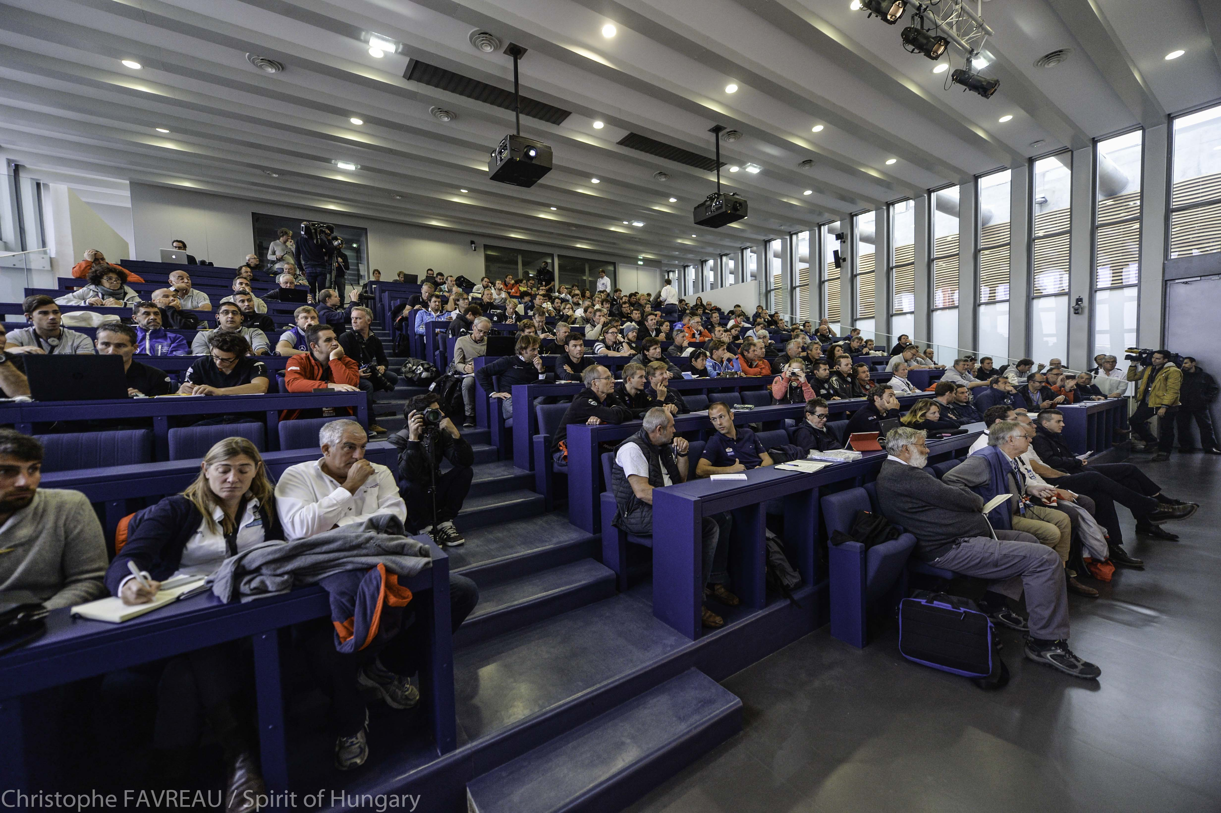 Homebox Le Havre Tjv 2015 Skippers Briefing 24th October Le Havre Spirit Of Hungary