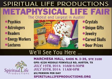 Austin Metaphysical Fair April 2014 - Spiritual Life Productions