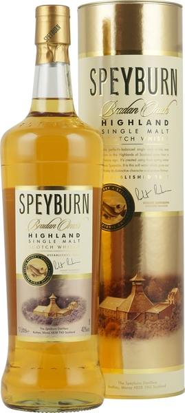 Adventskalender Gläser Speyburn Bradan Orach Single Malt Whisky 1 Liter - Der