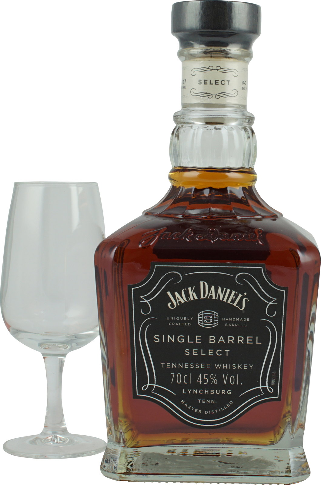 Whisky Nosing Glas Jack Daniels Single Barrel Mit Nosing Glas 700ml 45%