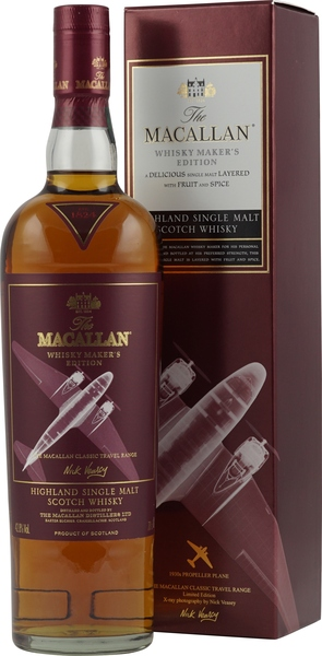 Adventskalender Gläser Macallan Maker's Edition Traveler Range 1930 Propeller