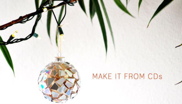 Εύκολο DIY: Φτιάξτε τα πιο Λαμπερά Χριστουγεννιάτικα Στολίδια!