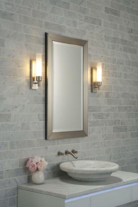 Φωτίστε το μικρό μπάνιο σας για να το μεγαλώσετε!