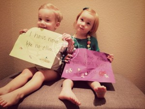 Spit and Sparkles: Corbin, Lynley and Jeep make an announcement. #twins #baby